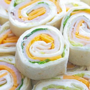 Turkey Cheddar Lunch Roll Ups