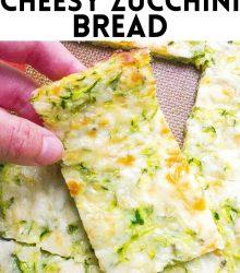 Keto Zucchini cheese bread