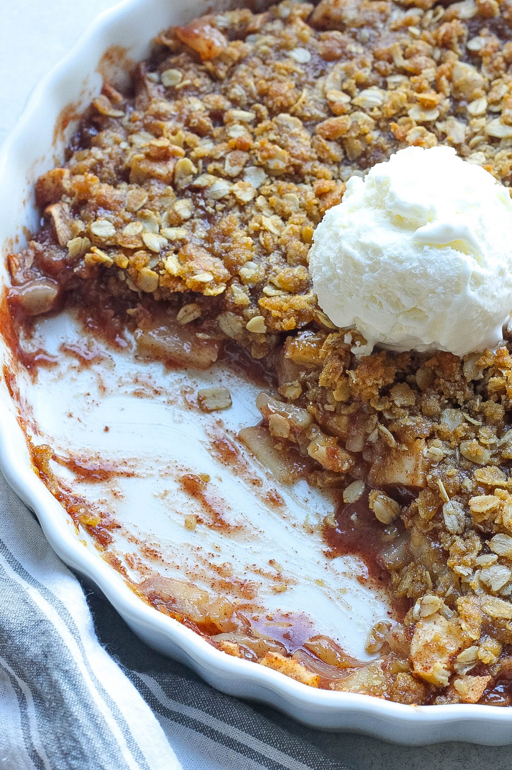 Apple Cinnamon Crisp