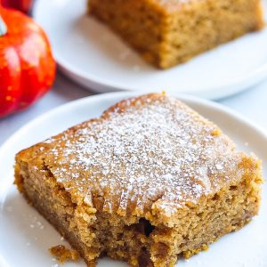 Pumpkin Banana Bread Bars (Made in One Bowl!)