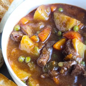 Chunky Beef Stew (Made in One Pot!)