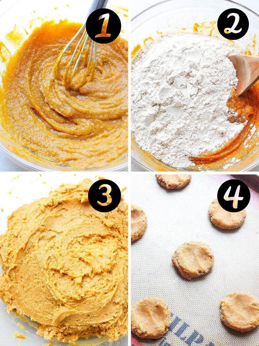 Pumpkin Spice Snickerdoodle steps