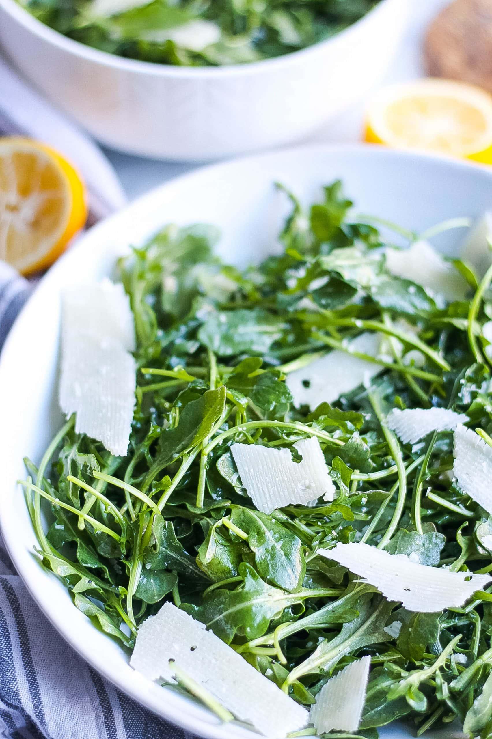 Arugula Parmesan Salad