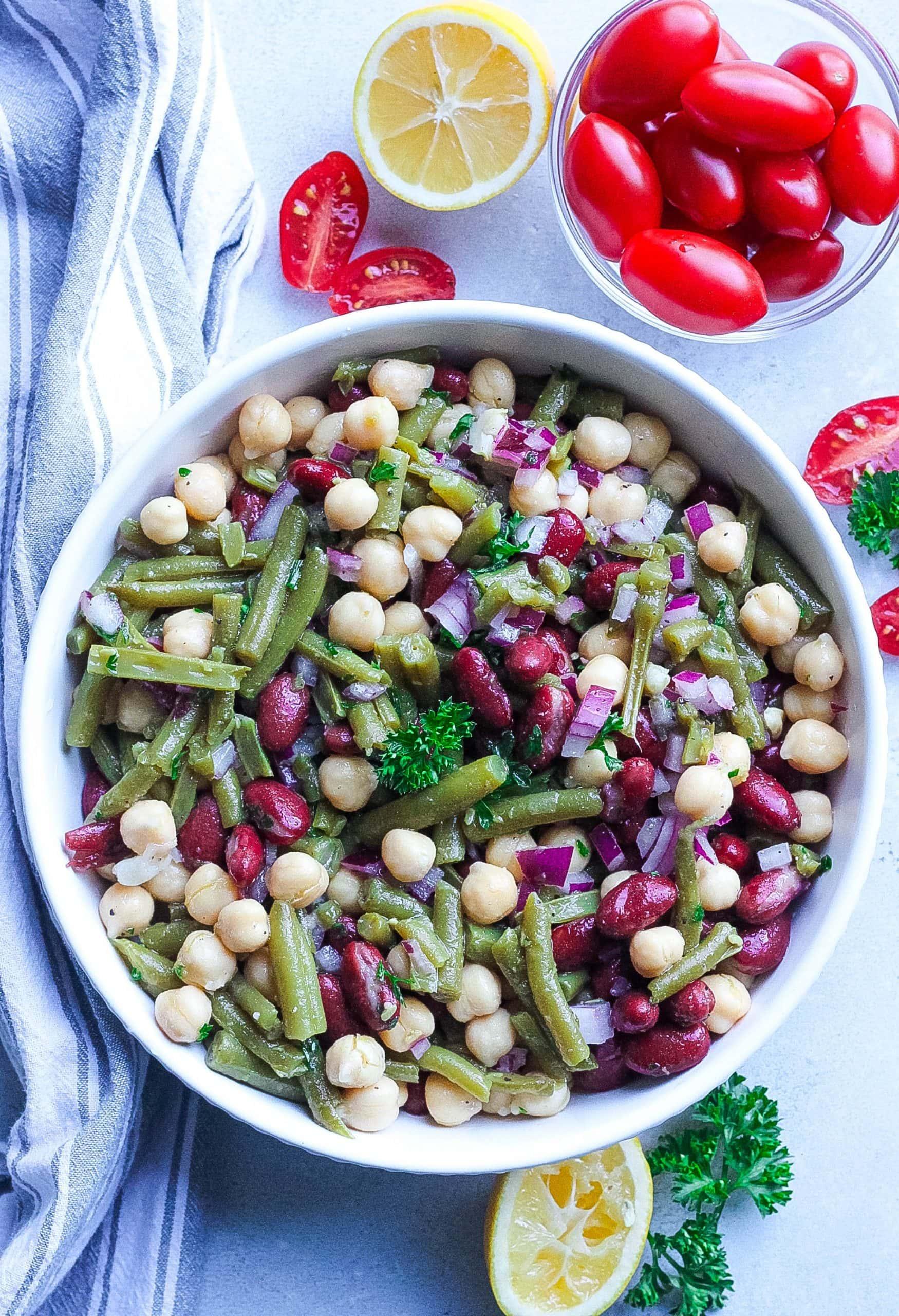 Classic Three Bean Salad Recipe