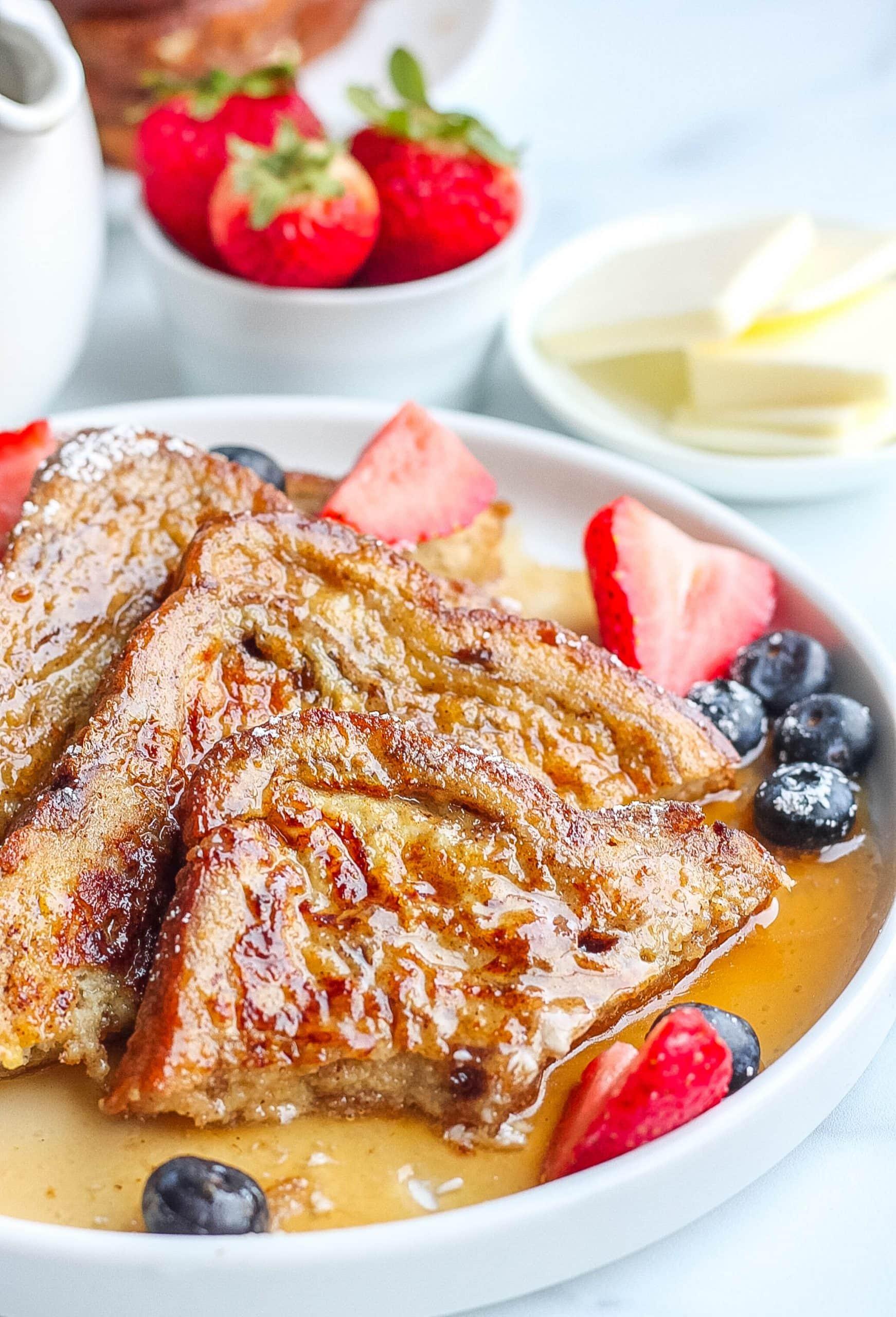 cinnamon raisin french toast recipe