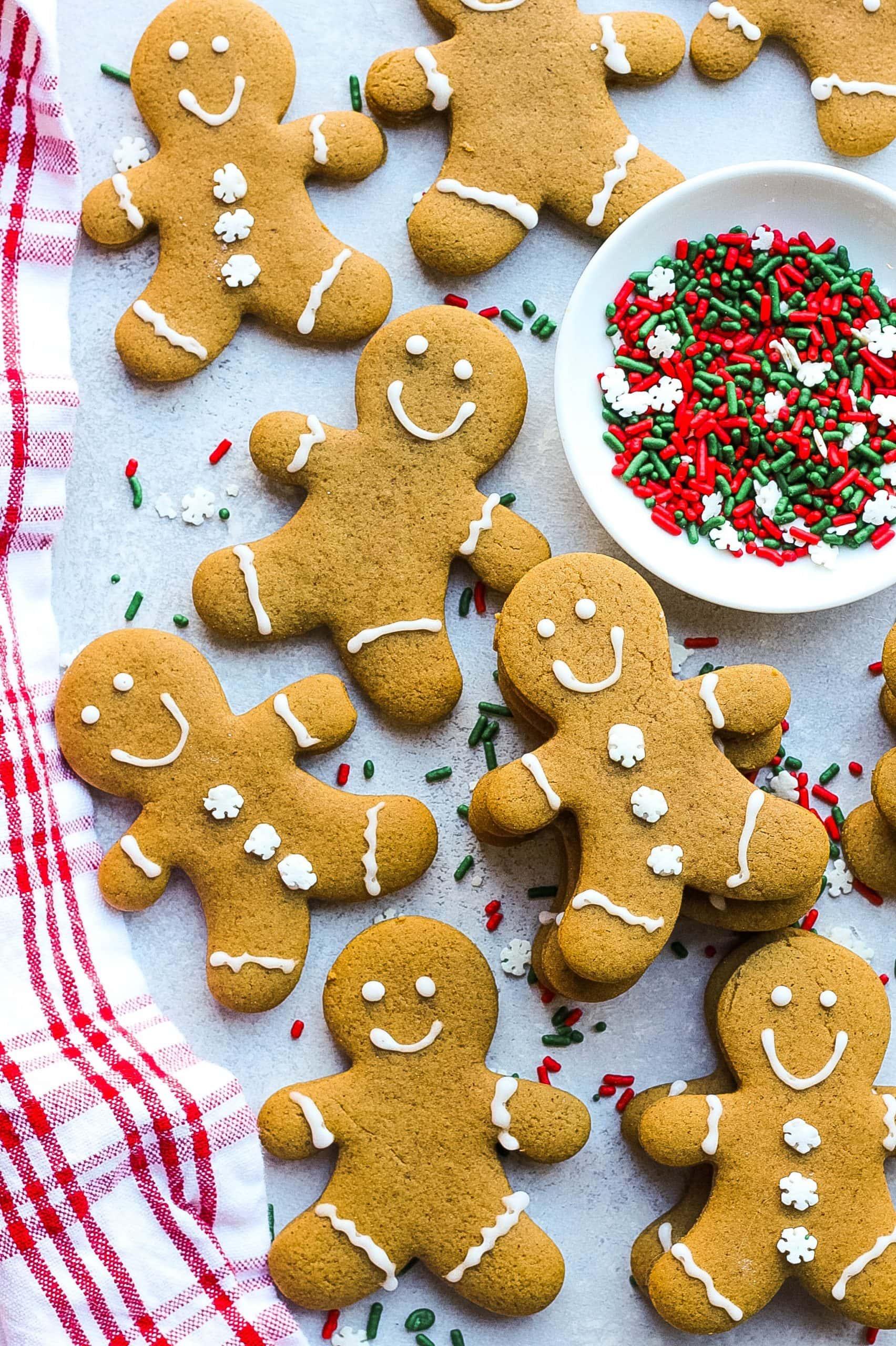 Gingbread men cookies