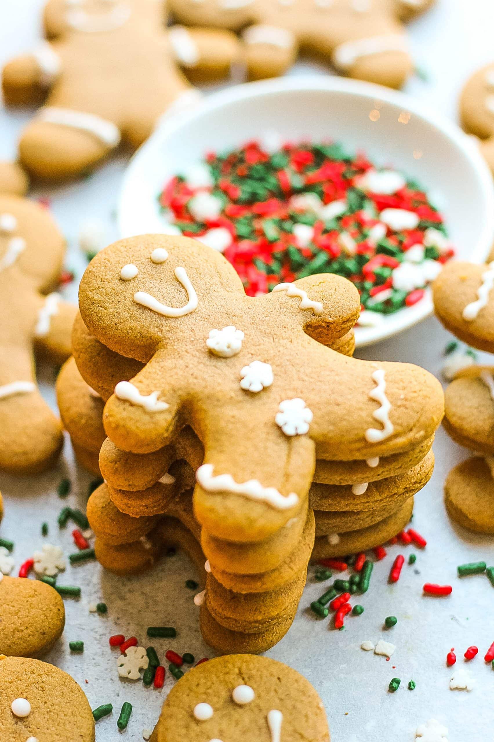 Christmas cookies- gingerbread men