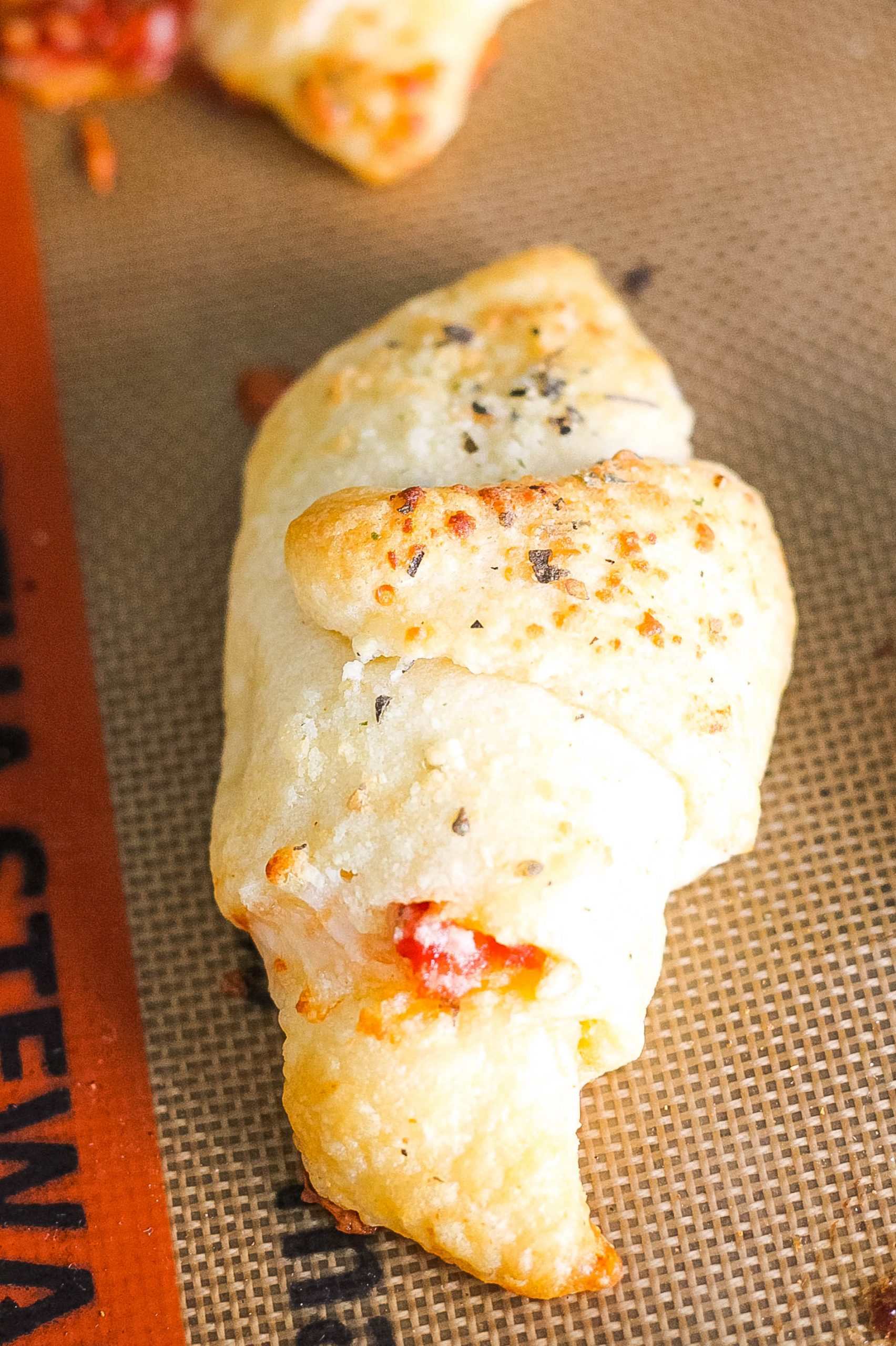 Cheese Pizza Roll Ups