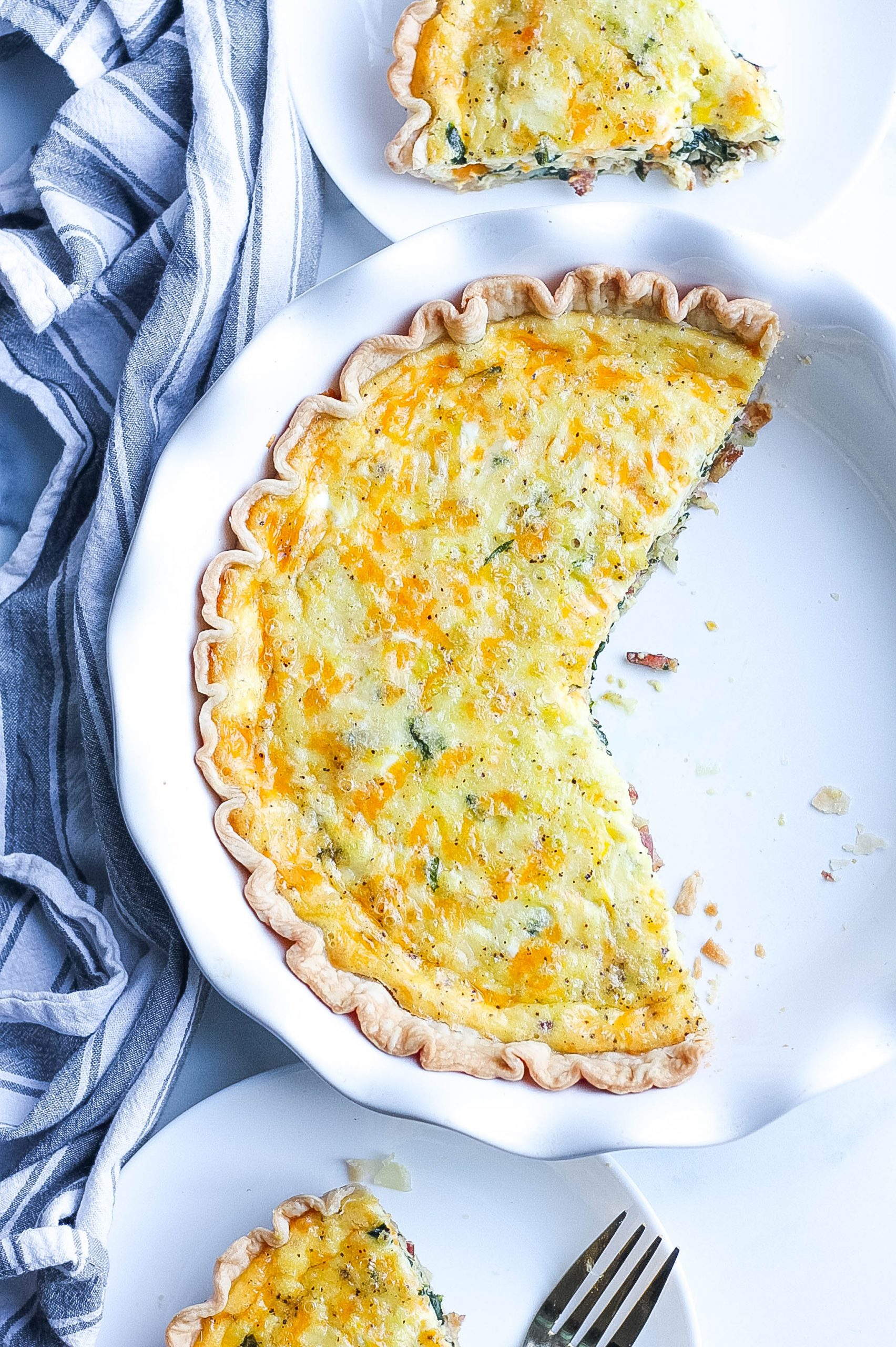 best quiche with bacon and spinach
