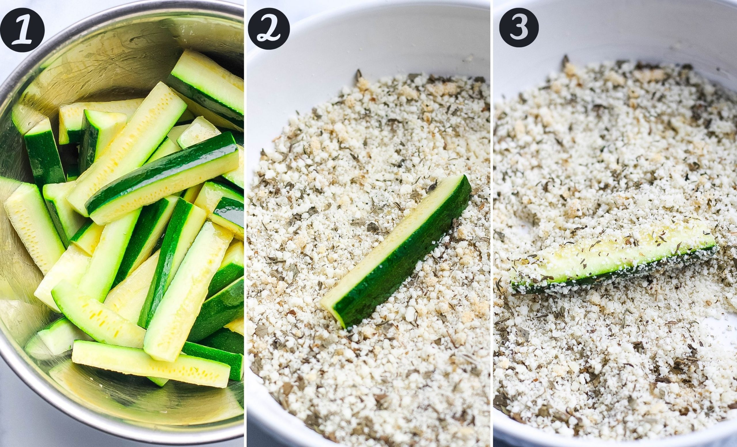 how to make oven fried zucchini