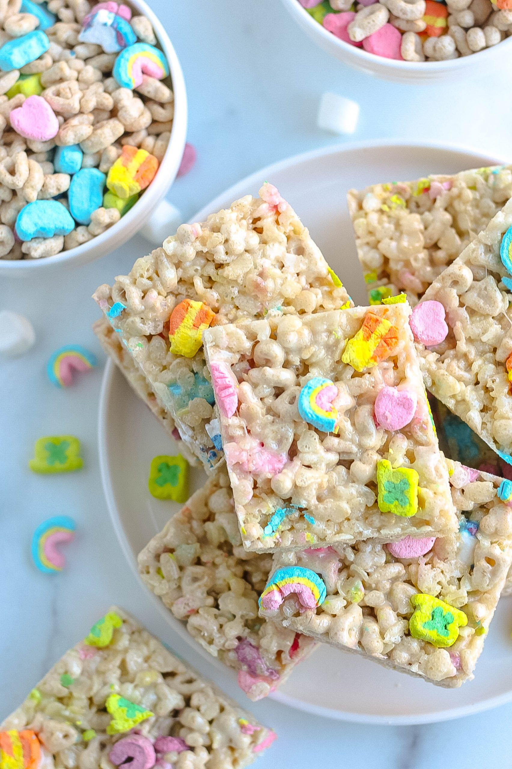 Lucky Charms Rice Krispies Treats