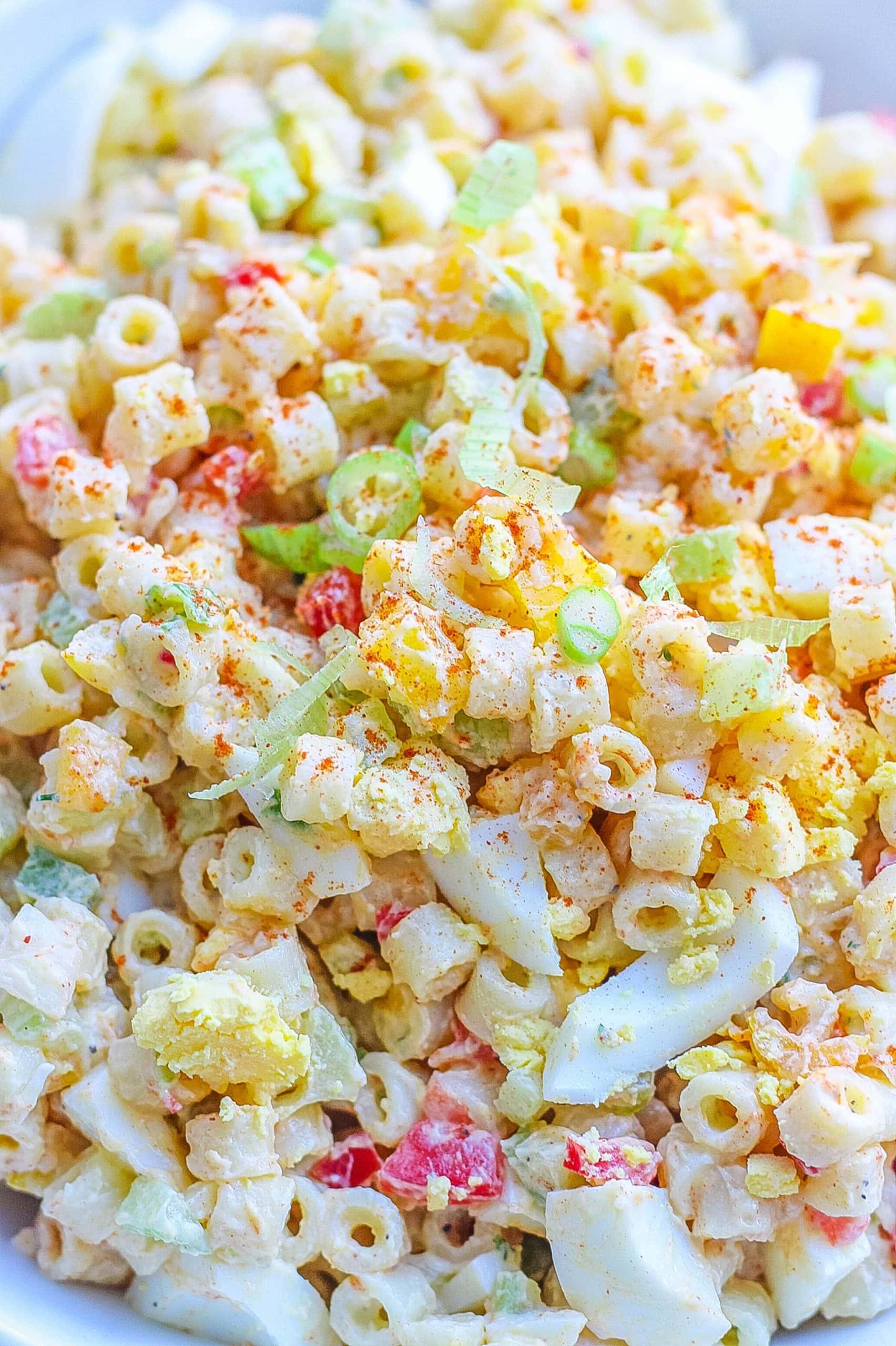 delicious macaroni salad