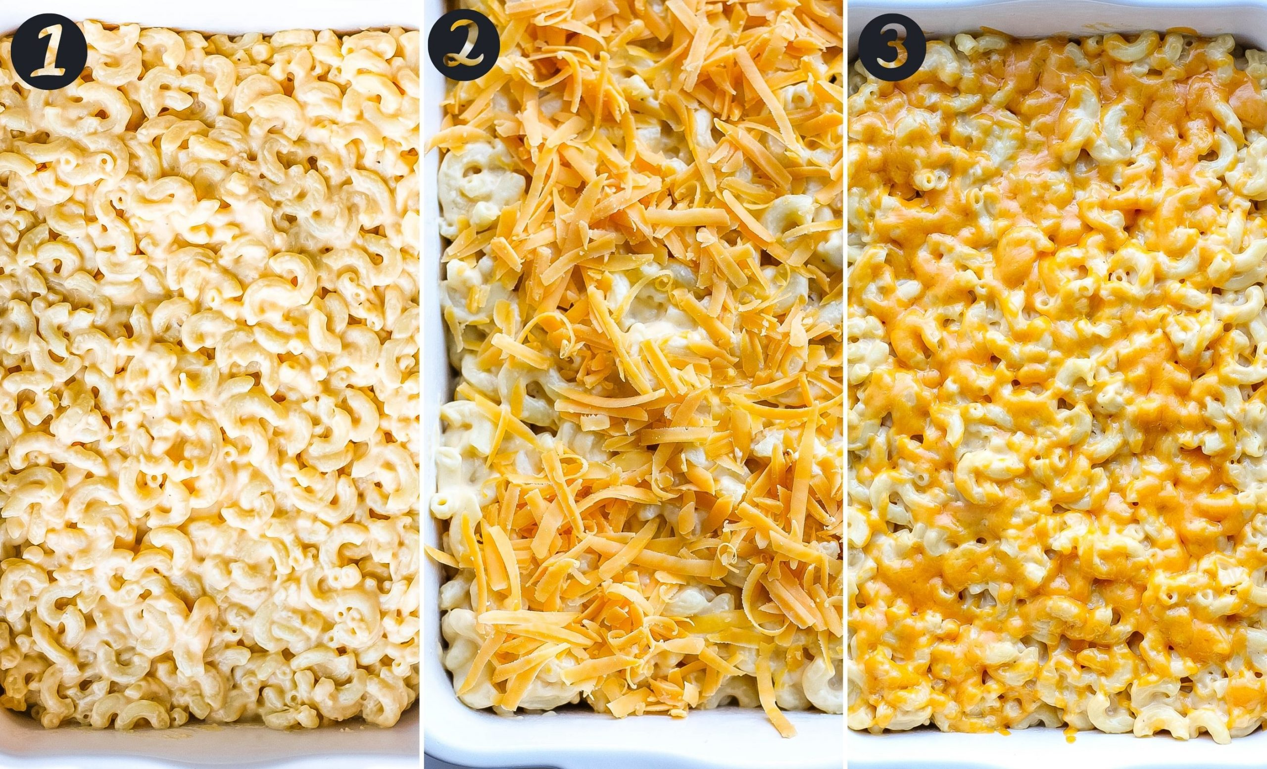 homemade mac and cheese steps