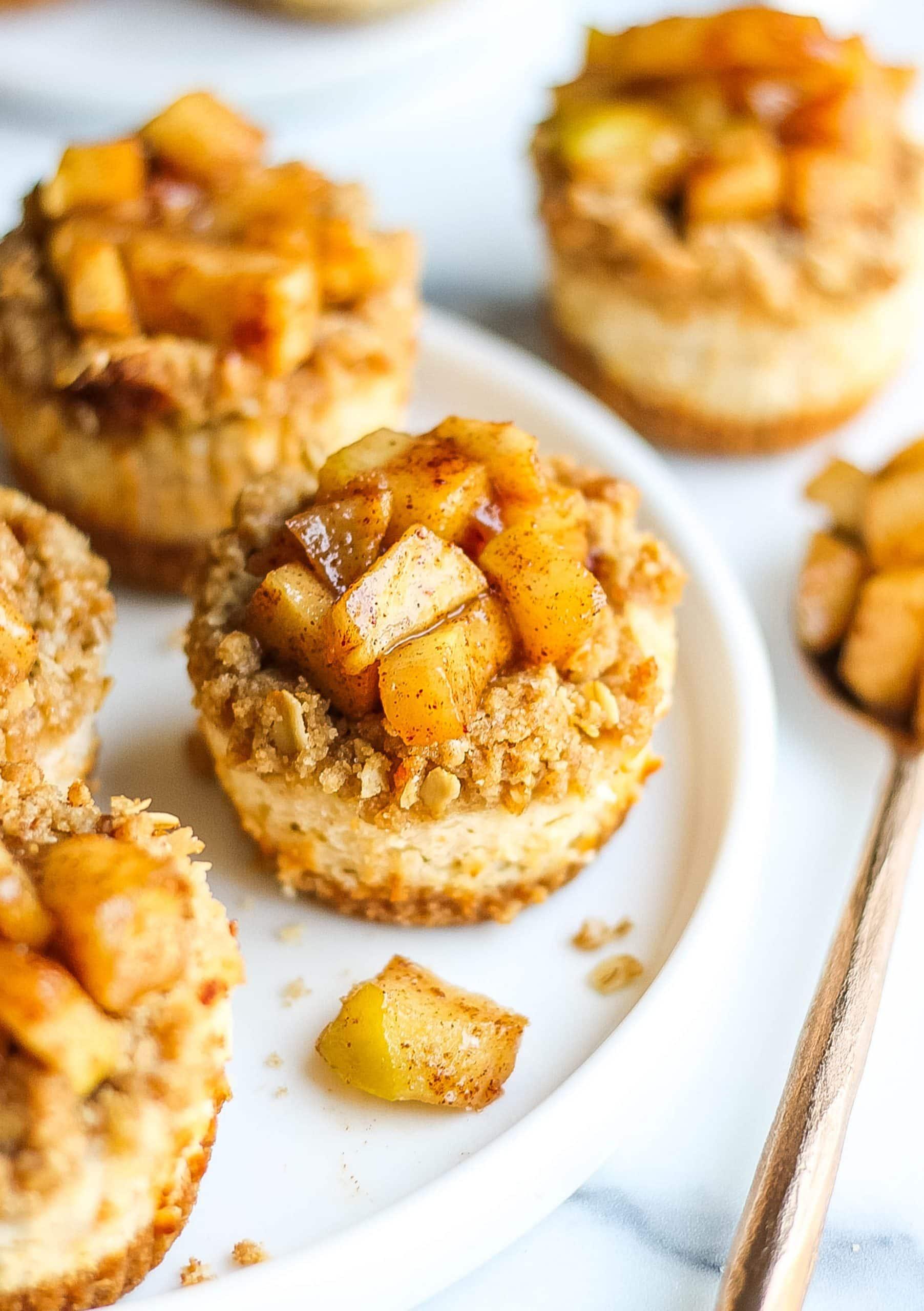 Apple Pie Cheesecake Bites