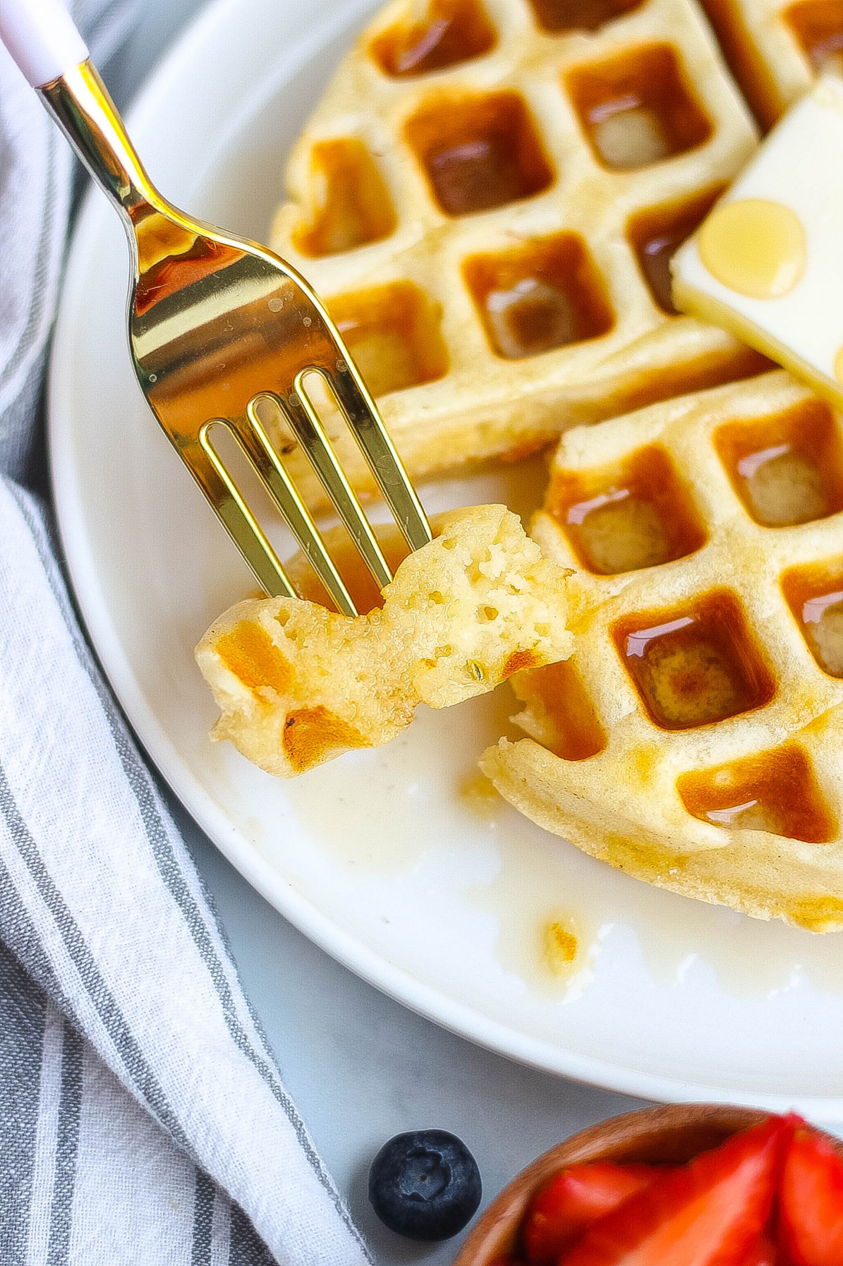 The Best Buttermilk Waffle Recipe