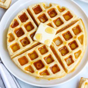 Classic Buttermilk Waffles (The Best Recipe)