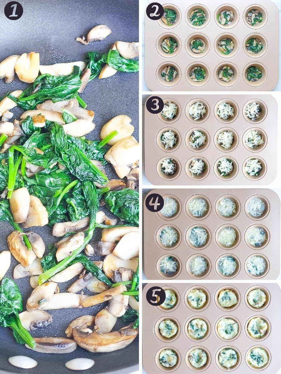 how to make egg white bites