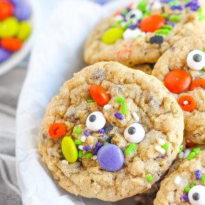 Halloween Monster Cookie Recipe