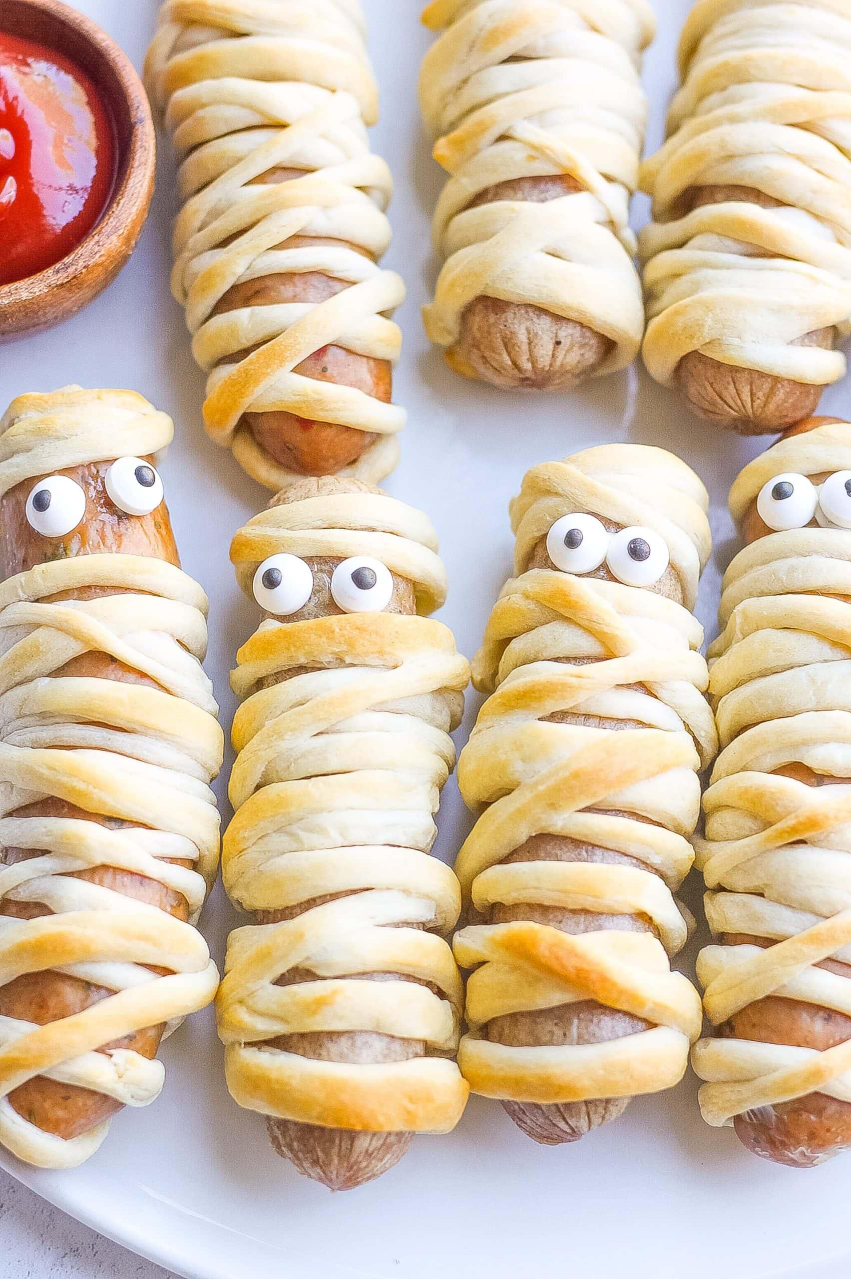 Sausage Mummy Dogs
