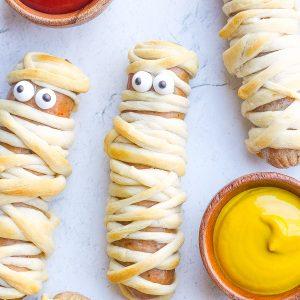 Halloween Mummy Dogs Recipe